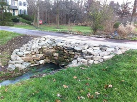 natural stone culvert traditional exterior
