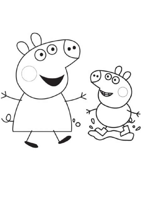 Free printable Peppa Pig coloring pages liste 20 à 40