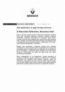 Entretien Twingo 2 : contrat entretien twingo 2 notice manuel d 39 utilisation ~ Gottalentnigeria.com Avis de Voitures