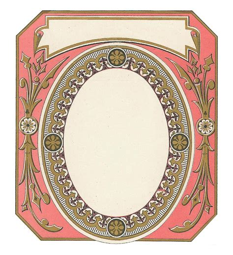 If it is so, then the card label is simply the hint name of the card that will show up(will be easy for you to choose the card for later transaction) if there is multiple card saved or provision for saving multiple. Vintage Frame Cards and Labels for Free   Free printable labels & templates, label design ...