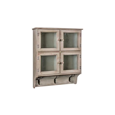 shabby chic wall units shabby chic wall unit with hooks distressed effect wall unit