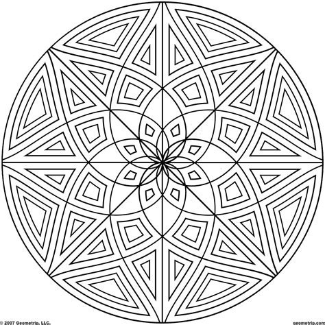 Geometric Design Coloring Pages Geometric Design Coloring Pages 24240 Bestofcoloring