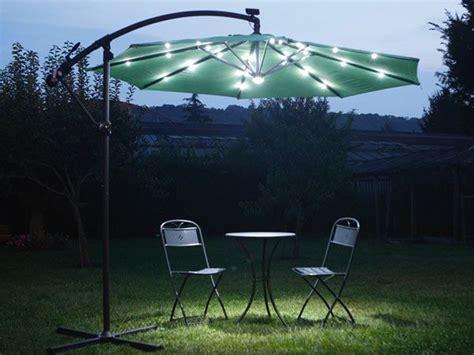 Da Greenwood L'ombrellone Solare A Led Per Illuminare