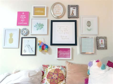 Kate Spade Inspired Gallery Wall In My Dorm At Scad
