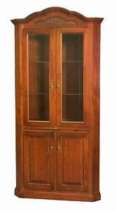 Dining room corner furniture, amish corner hutch cabinet