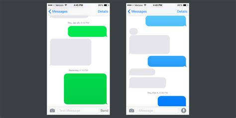 imessage template on colors gradients and chat bubbles eli schiff