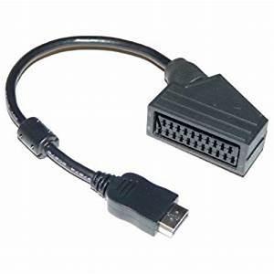 Cable Peritel Vers Hdmi : panasonic k1hy20yy0011 adaptateur scart pour crans plats ~ Dailycaller-alerts.com Idées de Décoration