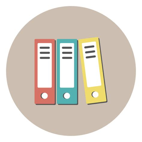 icone de bureau icône des archives des dossiers bureau gratuit de flat