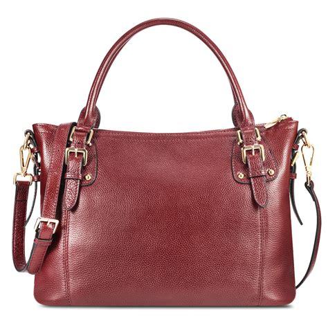 Cowhide Handbags by Kattee Vintage Waxed Cowhide Leather Tote Vintage Shoulder