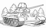Coloring Tank Army Pages Tanks Printable Military Simple Armored Ecolorings Info Px Resolution sketch template