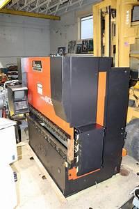 Amada Hfb 8025 8 Axis Cnc Press Brake 88 Ton X 8 U0026 39