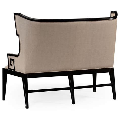 Dining Settee Upholstered by Upholstered Dining Bench Settee Swanky Interiors