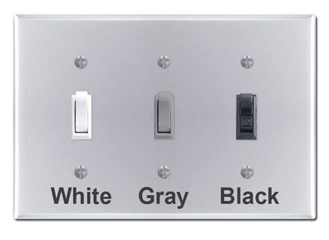 colored outlets polished chrome light switch plates outlet covers rocker