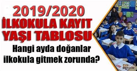 2019-2020 İlkokul Kayıtları Ne Zaman Başlayacak? 2019-2020