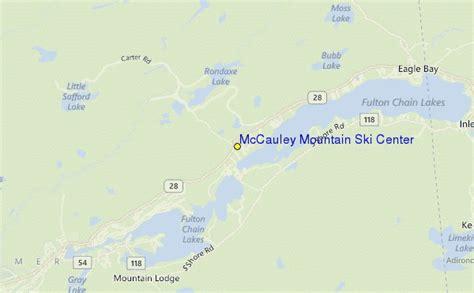 mccauley mountain ski center ski resort guide location