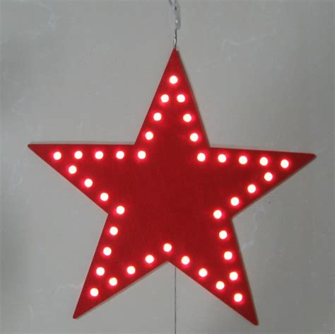Red And White Led Christmas Lights by Fy 002 A23 Weihnachtsstern Felt Doormat Teppich