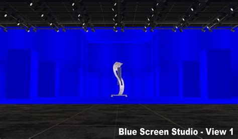 mod the sims nci green blue wall photo film studio