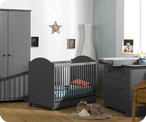 chambre grise chambre bébé nature gris anthracite achat vente