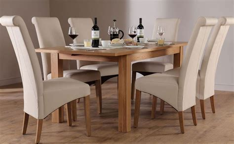 interesting second oak dining table and chairs 80
