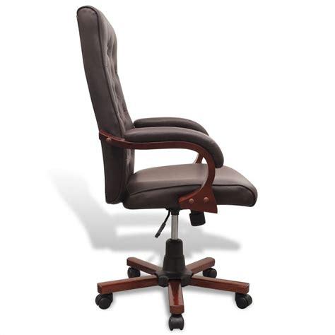 fauteuil bureau cuir marron la boutique en ligne fauteuil de bureau chesterfield en