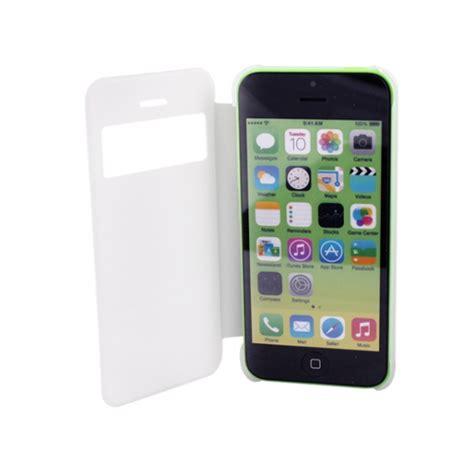 iphone 5c white apple iphone 5c white ultra slim flip cover