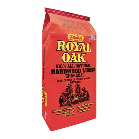 home depot charcoal sale 15 4 lbs royal oak natural hardwood lump charcoal slickdeals net