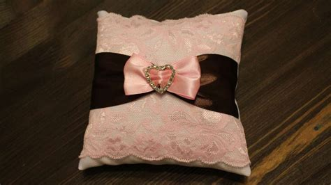 how to make a pillow for wedding rings diy crafts tutorial guidecentral youtube