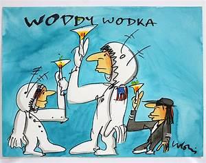 Udo Lindenberg Zeichnung : udo lindenberg woddy wodka mischtechnik auf papier ~ Kayakingforconservation.com Haus und Dekorationen