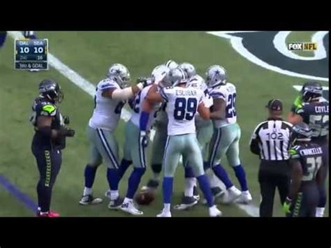 dallas cowboys  seattle seahawks highlights  youtube