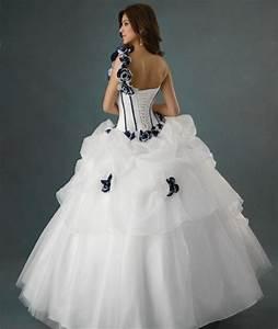 Robe De Mariée Noire : robe de mariee noir et blanc ~ Dallasstarsshop.com Idées de Décoration