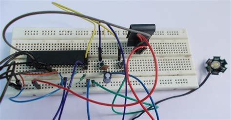 Power Led Dimmer Using Atmega Avr Microcontroller Pwm