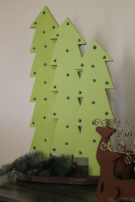 decorative wooden christmas trees wooden christmas trees with lights rustic christmas