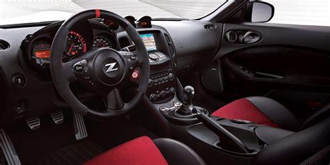 fairlady z interior 2019 nissan 370z coupe nismo nissan usa