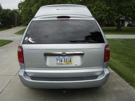 Used Chrysler Town And Country Limited by Sell Used 2001 Chrysler Town And Country Limited Edition