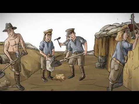 fast facts world war  trench life youtube