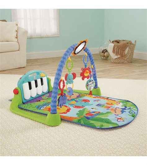 tapis piano fisher price fisher price kick play piano blue