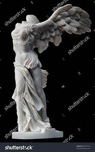 Winged Victory Of Samothrace Small Replica Isolated On ...