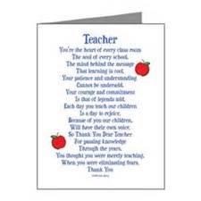 special education teacher note cards