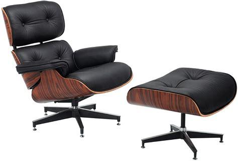 Poltrona Patchwork Eames : Poltrona Charles Eames Preta + Puff Acabamento Imbuia