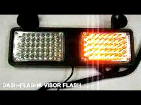volunteer firefighter light laws dash flash visor flash led strobe light red blue or
