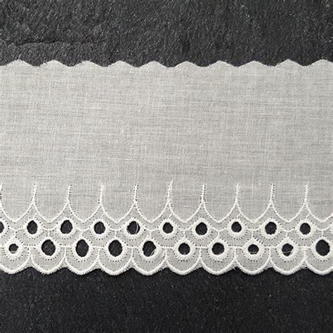 cotton eyelet lace trim   joyce trimming