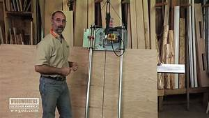 Woodworking Tools: Power Tools - Using A Vertical Panel