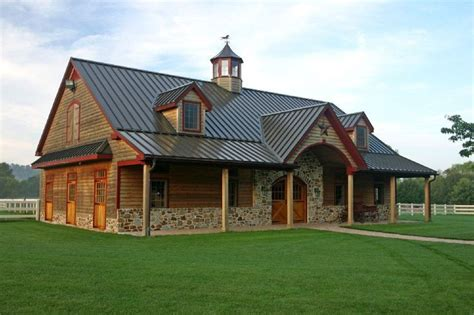 Pole Barn Style House Plans
