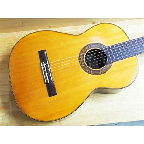 Suzuki Acoustic Guitar by Suzuki No 50 Made 1967 Classical Second Acoustic