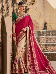 Indian wedding saree latest design 2017