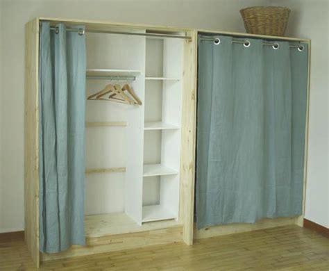 meuble a balai pour cuisine dressing bois et esprit cabane idees creatives et