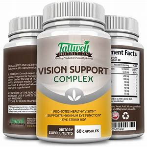 Vision Support Vitamins For Eye Health Lutein  Vitamin A  Taurine  Lycopene