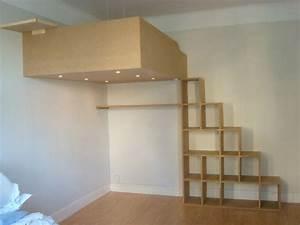 Treppe Für Hochbett : treppe f r hochbett projekt hochbett pinterest loft ~ Michelbontemps.com Haus und Dekorationen
