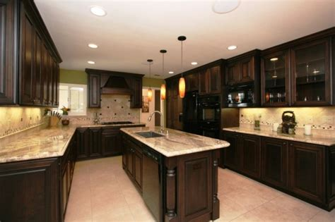 kitchen designs ideas pictures espresso kitchen cabinets pictures ideas tips from 4661