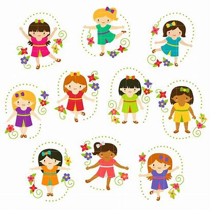 Clip Clipart Playing Semi Crafting Exclusive Embroidery